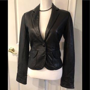 Mossimo 100% leather jacket XS